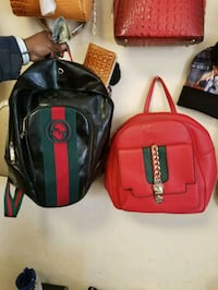 red and black leather Gucci bag Knoxville, 37918