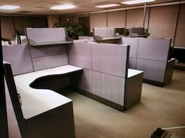Office desk cubicle