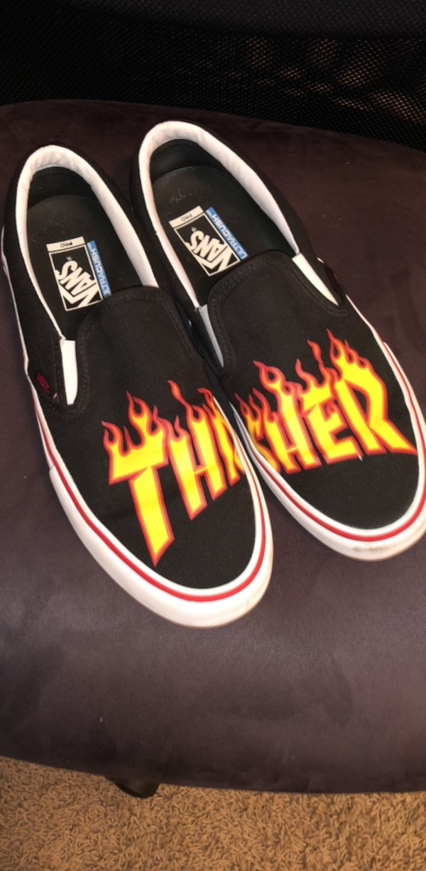 4a6f7b36e94 Used Thrasher vans size 12 for sale in Edgemoor - letgo