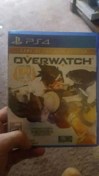 Sony PS4 Overwatch game case