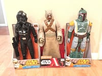 Star Wars boba fett figure only, others are sold Industry, 91789