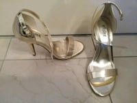 Brand new gold shoes, size 7 Montreal