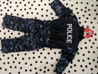 Police Halloween Costume 3-4T Burnaby, V5M 4A4