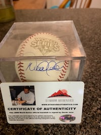 2009 World Series ball signed by Derek Jeter. Virginia Beach, 23455