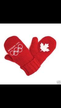 2010 Winter Olympic Mitten - NEW