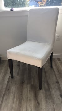 white and black wooden chair Seattle, 98144