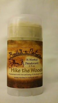 Handmade Natural Deodorant Washington