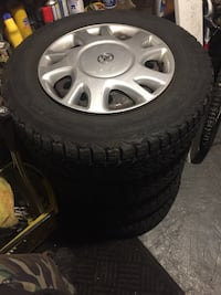 Firestone snow tires 205/70R15 545 km