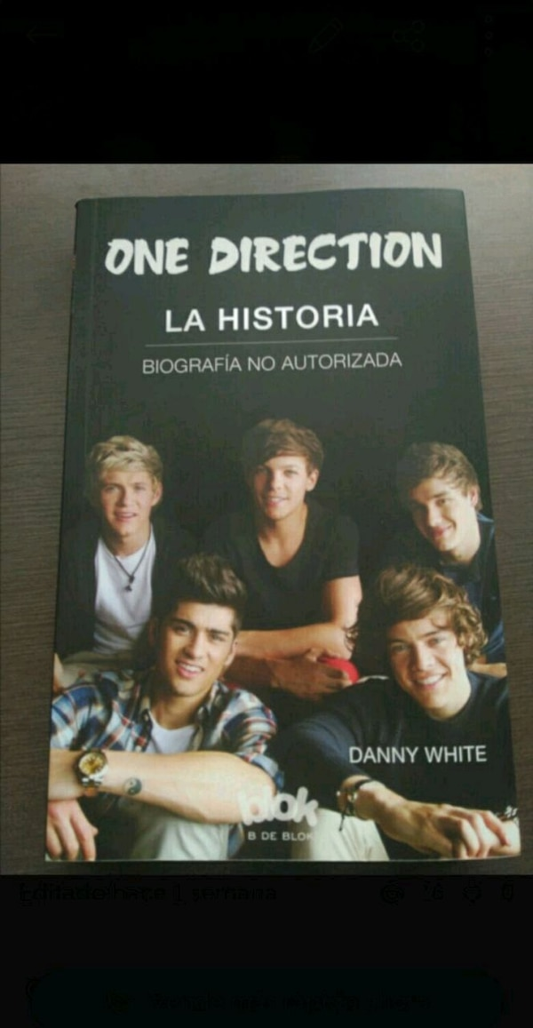Libros One Direction
