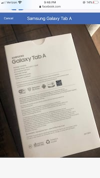 BRAND NEW IN BOX! Samsung Galaxy Tablet Clarksburg, 20871