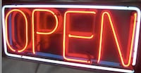 Vintage neon OPEN sign  Los Angeles, 91601