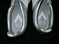 pair of gray-and-white slip on shoes Perris, 92571