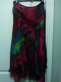 women's multicolored floral sleeveless dress Maryland Heights