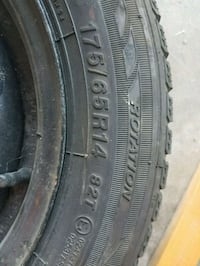 175 65r14 Winter Tires and rims Kitchener, N2E 3S2