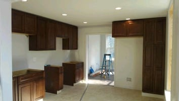 Built in Custom Cabinets , Dressers and TV/Stereo.