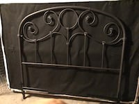 black metal headboard Middleburg Heights, 44130