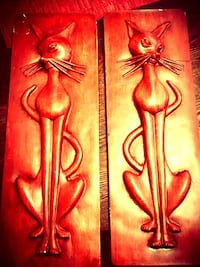 Beautiful Egyptian cat wall hangings Livermore, 94550