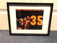 Richard Brodeur signed and framed photo  Châteauguay, J6K