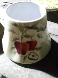 Ceramic candle shades new and i have two
