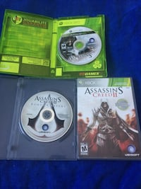 3 Xbox 360 assassin's creed games