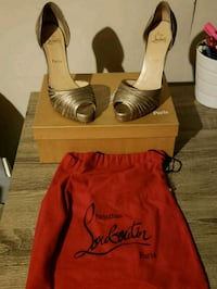 Authentic Christian Loubouin heels 536 km