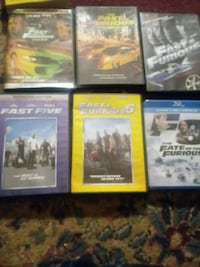 FAST AND FURIOUS DVDS AND BLUERAY McEwensville, 17749