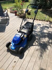 Cordless Electric Lawn Mower - Kobalt 40V Max AND TWO BATTERIES Herndon, 20171