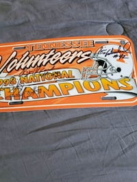1998 UT CHAMPIONSHIP TAG Knoxville