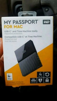 4 TB Hard Drive for MAC (compatible with Windows) Long Beach