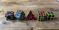 Set of 5 geometric puzzles Ellicott City, 21042