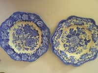 Spode Plates Blue Room Garden Collections Chesapeake, 23322