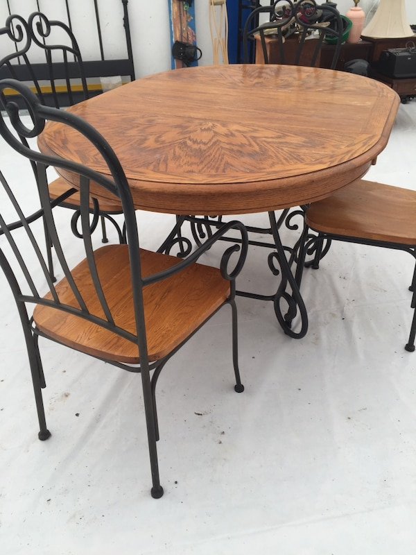 Used Dining Table And Chairs For Sale In Hamilton