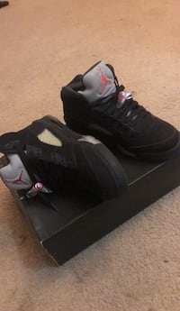 pair of black Air Jordan 5's Kissimmee, 34741