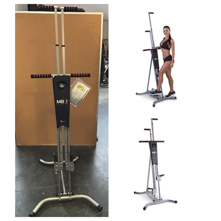 MaxiClimber Total Workout - Home Gym Exercise Equipment