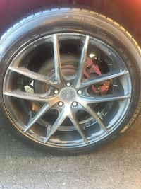 "20"" niche rims with all season tires"
