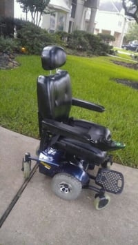 black and blue electric wheelchair Houston, 77044