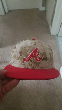 Braves Fitted Hat 7 5/8 Ewa Beach, 96706