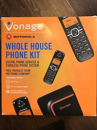 Phone kit vonage Motorola 3 home wireless kit Austin, 78750