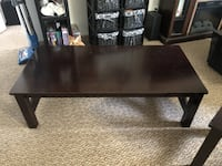 Coffee Table with 2 End Tables.