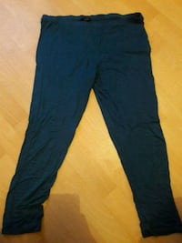 Stretch Leggins blau/grün  6400 km