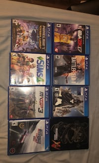 $5 games, $35 for the lot! Germantown, 20874