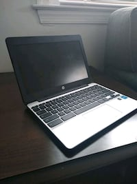 black and gray HP laptop 49 km