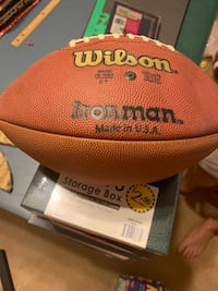 Leather Footballs by Wilson
