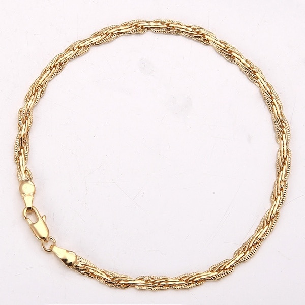 ed9d0cd15 Used Vintage Noble 18K Yellow Gold Filled Bracelet for sale in Houston -  letgo