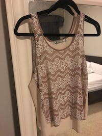 Nordstrom lace tank  Fort Worth, 76109