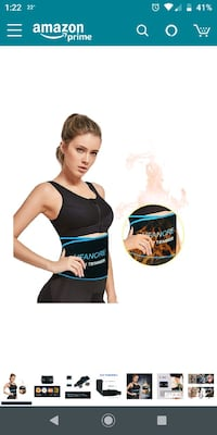 brand new waist trimmer belt size large Piscataway, 08854