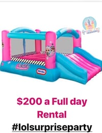 Rent a Bouncer house $200 full day Montréal