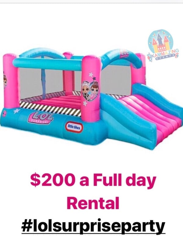 Rent a Bouncer house $200 full day  99bd9307-cb54-4fb1-a042-3a06f970ee84