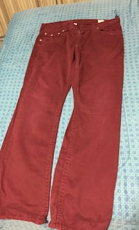 Red true religion jeans
