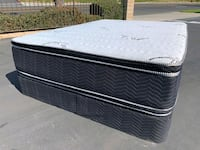 Double Pillow Top Mattress and Boxspring  Palmdale